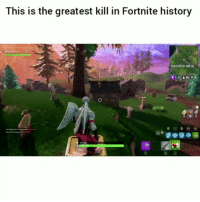 Funny, History, and Haunted: This is the greatest kill in Fortnite history  SE  HAUNTED HTLL  1:12 48  0 7B Finesse 💀😂