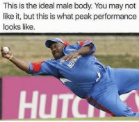 Ideal Male Body: This is the ideal male body You may not  like it, but this is what peak performance  looks like.