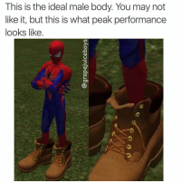 I'm sorry but u feminists can succ our timbs: This is the ideal male body. You may not  like it, but this is what peak performance  looks like. I'm sorry but u feminists can succ our timbs
