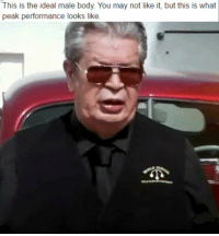 Pawn Performance: This is the ideal male body. You may not like it, but this is what  peak performance looks like Pawn Performance