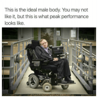 (instruction in comments): This is the ideal male body. You may not  like it, but this is what peak performance  looks like (instruction in comments)