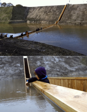 Netherlands, Moses, and Bridge: This is the Moses Bridge in the Netherlands