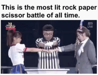 Dank, 🤖, and Rock Paper Scissors: This is the most lit rock paper  scissor battle of all time  LIVE Who needs UFC when you have this...