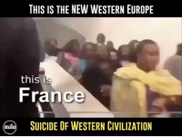 America, Anaconda, and Facebook: THIS IS THE NEW WESTERN EUROPE  thisi  France  miloSUICIDE OF WESTERN CIVILIZATION Refugees destroying Europe... I'm 100% with Trump, keep em out. syrianrefugees refugeeswelcome refugeesnotwelcome trumpmemes liberals libbys democraps liberallogic liberal maga conservative constitution presidenttrump resist thetypicalliberal typicalliberal merica america stupiddemocrats donaldtrump trump2016 patriot trump yeeyee presidentdonaldtrump draintheswamp makeamericagreatagain trumptrain triggered CHECK OUT MY WEBSITE AND STORE!🌐 thetypicalliberal.net-store 🥇Join our closed group on Facebook. For top fans only: Right Wing Savages🥇 Add me on Snapchat and get to know me. Don't be a stranger: thetypicallibby Partners: @theunapologeticpatriot 🇺🇸 @too_savage_for_democrats 🐍 @thelastgreatstand 🇺🇸 @always.right 🐘 @keepamerica.usa ☠️ @republicangirlapparel 🎀 @drunkenrepublican 🍺 TURN ON POST NOTIFICATIONS! Make sure to check out our joint Facebook - Right Wing Savages Joint Instagram - @rightwingsavages