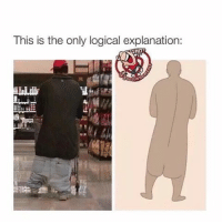This is the only logical explanation:  HOR Long ass