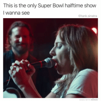 😤😤😤 Super Bowl: This is the only Super Bowl halftime show  I wanna see  @tank.sinatra  MADE WITH MOMUS 😤😤😤 Super Bowl