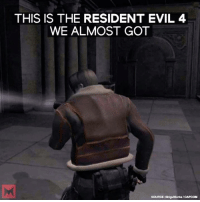 Memes, 🤖, and Resident Evil: THIS IS THE RESIDENT EVIL 4  WE ALMOST GOT  SOURCE: ShiguWorks CAPCOM The cancelled version of Resident Evil 4... 😯