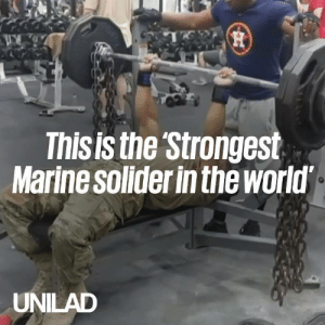 This marine is known as 'the strongest soldier in the world...' His core strength is actually insane! 💪🙌  Diamond-Cut Fitness: This is the Strongest  Marine solider in the world  UNILAD This marine is known as 'the strongest soldier in the world...' His core strength is actually insane! 💪🙌  Diamond-Cut Fitness