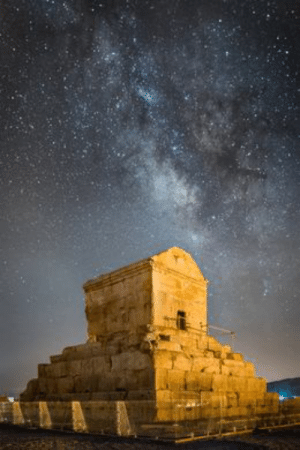 This is the tomb of Cyrus The Great, the first shah of Persia and is likely one of the 52 cultural sites Donald Trump intends to bomb. Why are we trying to bomb the tomb of a man who died thousands of years ago?: This is the tomb of Cyrus The Great, the first shah of Persia and is likely one of the 52 cultural sites Donald Trump intends to bomb. Why are we trying to bomb the tomb of a man who died thousands of years ago?