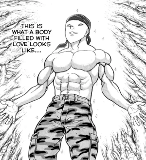 [Manga] Citation needed: THIS IS  WHAT A BODY  FILLED WITH  LOVE LOOKS  LIKE... [Manga] Citation needed