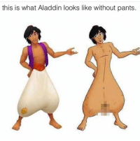 Oh no @dubstep4dads: this is what Aladdin looks like without pants. Oh no @dubstep4dads