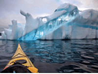 This is what an iceberg of Newfoundland looks like.: This is what an iceberg of Newfoundland looks like.