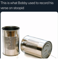 Y'all wrong for this...🎶😩😂 #FreeBobbyShmurda https://t.co/w9WzsFFNwC: This is what Bobby used to record his  verse on stoopid Y'all wrong for this...🎶😩😂 #FreeBobbyShmurda https://t.co/w9WzsFFNwC