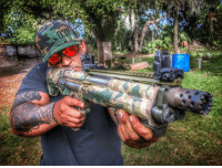 Memes, Photoshop, and Awesome: This is what happens when talented Jeff Cotto from @bat.defense finds his new photoshop skills. Thanks for the awesome group therapy day. Thank again to @moshatsllc for the 0311 hat & our @keltecweapons .