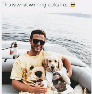 Funny, Bond, and Via: This is what winning looks like. I want that kind of bond. 😁 via /r/funny https://ift.tt/2wnqIJW