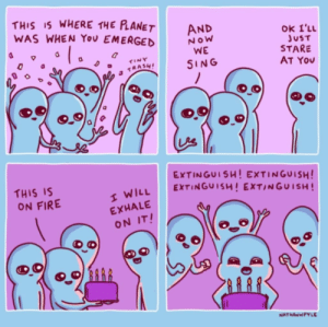 Ok i just stare at you: THIS IS WHERE THE PLANET  WAS WHEN You EMERGED  AND  OK I'LL  JUST  STARE  AT You  NoW  WE  TINY  SING  a TRASH!  EXTINGUISH! EXTINGUISH!  EXTINGUISH! EXT/NGUISH!  THIS IS  ON FIRE  I WILL  EXHALE  ON IT!  NATHANWPYLE Ok i just stare at you