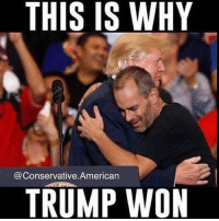 Memes, Obama, and Politics: THIS IS WHY  Conservative American  TRUMP WON Trump was willing to engage with THE PEOPLE more than any other politician was willing to do. It's Time to put the AMERICAN PEOPLE FIRST ONCE AGAIN!!🇺🇸🇺🇸🇺🇸🇺🇸 sfla2017 whywemarch PresidentTrump Trump Republican Conservative American Nobama Hillary4Prison Navy Marines Trump Hillary Trump Airforce president Liberals MakeAmericagreatagain feelthebern buildthewall bernie2016 trump2016 Obama like politics Partners --------------------- @too_savage_for_democrats🐍 @raised_right_🐘 @conservative.inc🍻 @young.conservative_👍🏼 @conservativemovement🎯 @millennial_republicans🇺🇸 @ny_conservative1776😎 @floridaconservatives🔥