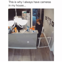 """""""I'm over...help"""" 😂 Credit: @cm_carly_cm w- @rachel_marie_3: This is why I always have cameras  in my house... """"I'm over...help"""" 😂 Credit: @cm_carly_cm w- @rachel_marie_3"""