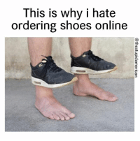 Shoes, Dank Memes, and Soul: This is why i hate  ordering shoes online  3 I didn't know they came with no soul 😅😂 duhmerica Follow for more 🔥