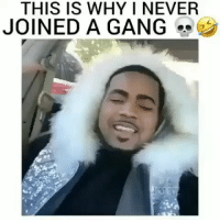 Funny, Lol, and Gang: THIS IS WHY I NEVER  JOINED A GANG Lol he wicked... funniest15 viralcypher funniest15seconds Rp @viralcypher Www.viralcypher.com