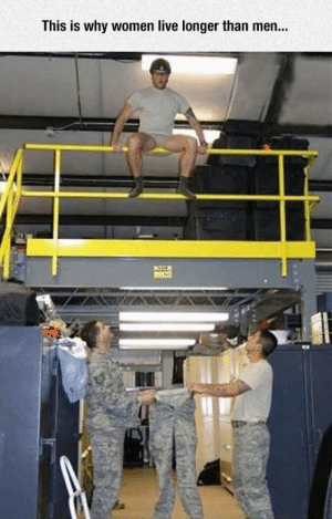Tumblr, Blog, and Live: This is why women live longer than men... epicjohndoe:  Somehow It's Still Worth It