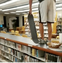 This is why your not allowed to skate inside the library 😂💀 skatermemes