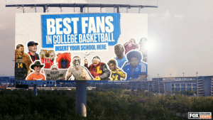 This isn't just another internet bracket 😏  The winner of our ULTIMATE Fan Bracket will get to place a billboard in their rivals' city declaring they have the best hoops fans in the nation, courtesy of FOX Sports https://t.co/6sDDo6egqR: This isn't just another internet bracket 😏  The winner of our ULTIMATE Fan Bracket will get to place a billboard in their rivals' city declaring they have the best hoops fans in the nation, courtesy of FOX Sports https://t.co/6sDDo6egqR