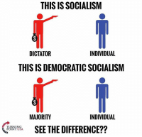 America, Facebook, and Friends: THIS ISSOCIALISM  DICTATOR  INDIVIDUAL  THIS IS DEMOCRATIC SOCIALISM  MAJORITY  INDIVIDUAL  TURNING  SEE THE DIFFERENCE??  POINT USA. LIKE & TAG YOUR FRIENDS ------------------------- 🚨Partners🚨 😂@the_typical_liberal 🎙@too_savage_for_democrats 📣@the.conservative.patriot Follow: @rightwingsavages & Like us on Facebook: The Right-Wing Savages Follow my backup page @tomorrowsconservatives -------------------- conservative libertarian republican democrat gop liberals maga makeamericagreatagain trump liberal american donaldtrump presidenttrump american 3percent maga usa america draintheswamp patriots nationalism sorrynotsorry politics patriot patriotic ccw247 2a 2ndamendment
