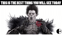 This is what Shinigami does in his free time: THIS ISTHEBESTTHINGYOUWILLSEETODAY  (Apple pen This is what Shinigami does in his free time