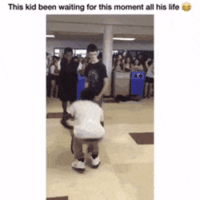 Life, Waiting..., and Been: This kid been waiting for this moment all his life is That hug though