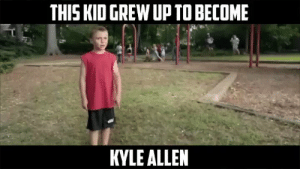 This is the best thing I've seen today ? https://t.co/euEF183eTu: THIS KID GREW UP TO BECOME  KYLE ALLEN This is the best thing I've seen today ? https://t.co/euEF183eTu