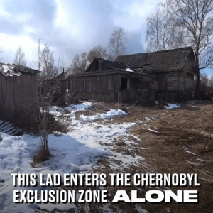 The Chernobyl exclusion zone is one of the most dangerous places on the planet. This man chose to enter it ALONE 😳⚠️: THIS LAD ENTERS THE CHERNOBYL  EXCLUSION ZONE ALONE The Chernobyl exclusion zone is one of the most dangerous places on the planet. This man chose to enter it ALONE 😳⚠️