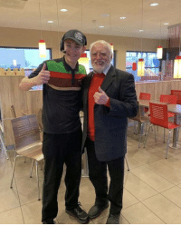 Burger King, Denmark, and Legend: This legend was at Burger King in Horsens, Denmark recently.