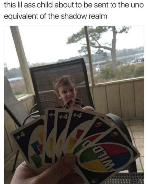 He doesnt know what is coming by hunoke MORE MEMES: this lil ass child about to be sent to the uno  equivalent of the shadow realm He doesnt know what is coming by hunoke MORE MEMES