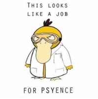 I'm just searching up memes on google because I have no ideas -: pokemon meme source; @google: THIS LOO KS  LIKE A JOB  FOR PSYENCE I'm just searching up memes on google because I have no ideas -: pokemon meme source; @google