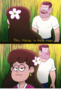 Tumblr, Blog, and Brain: This Maize is like a maze haiku-robot:  zimiestef: So I had a brain blast for a Starla pic the other day, and it was of this scene from park and rec: I probably would had this finished yesterday, but I was tired ;u;   i probably would had this finished yesterday but i was tired ;u; ^Haiku^bot^9. I detect haikus with 5-7-5 format. Sometimes I make mistakes.Be my personal slave | PayPal | Patreon