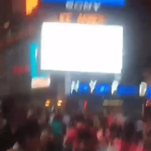 Billboard, Too Much, and Square: THIS MAN BOUGHT A BILLBOARD IN TIMES SQUARE JUST TO SAY THISSOME PEOPLE HAVE TOO MUCH DISPOSABLE INCOME