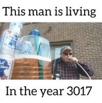 Memes, Living, and 🤖: This man is living  st  bbon  In the year 3017 How am I just now finding out about @BillyBuckRoscoe 😂