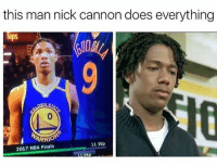 This is great 😂: this man nick cannon does everything  ps  ARRIOP  11:30p  2017 NBA Finals This is great 😂