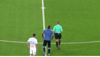 Soccer, Opportunity, and Got: This Marseille fan got the chance to take the ceremonial kick-off  He didn't waste his opportunity😂👏  🎥 @OM_Officiel https://t.co/fNQExqUoL2