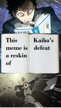 Anime, Meme, and Sorry: This  meme is  a reskin  of  Kaiba's  defeat