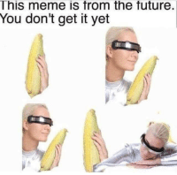 Future, Meme, and You: This meme is from the future.  You don't get it yet