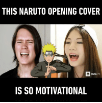 All the nostalgia and all the feels... (By PelleK & Raon Lee): THIS NARUTO OPENING COVER  9GAG  IS SO MOTIVATIONAL All the nostalgia and all the feels... (By PelleK & Raon Lee)