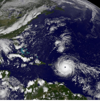 "This NASA satellite image taken at 1715 EDT (2215 GMT) on 5 September 2017 shows Hurricane Irma moving across the Atlantic Ocean. The most powerful Atlantic storm in a decade, has hit the Caribbean, with officials warning of its ""potentially catastrophic"" effects. The category five hurricane, the highest possible level, has sustained wind speeds reaching 300km-h (185mph). It first hit Antigua and Barbuda, before moving on to Saint Barthelemy and Saint Martin. It is then expected to move on towards Puerto Rico and the Dominican Republic. In the US, Florida's Key West area has ordered a mandatory evacuation. PHOTO: NASA-NOAA GOES Project BBCSnapshot hurricanirma hurricane storm category5 Caribbean evacuation weather: This NASA satellite image taken at 1715 EDT (2215 GMT) on 5 September 2017 shows Hurricane Irma moving across the Atlantic Ocean. The most powerful Atlantic storm in a decade, has hit the Caribbean, with officials warning of its ""potentially catastrophic"" effects. The category five hurricane, the highest possible level, has sustained wind speeds reaching 300km-h (185mph). It first hit Antigua and Barbuda, before moving on to Saint Barthelemy and Saint Martin. It is then expected to move on towards Puerto Rico and the Dominican Republic. In the US, Florida's Key West area has ordered a mandatory evacuation. PHOTO: NASA-NOAA GOES Project BBCSnapshot hurricanirma hurricane storm category5 Caribbean evacuation weather"