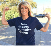 """Memes, Nasty, and Nasty: this  """"nasty  woman""""  votes And so do a lot more! If Trump has done one thing right, it's to inspire millions to register to vote. A storm is brewing that will hopefully cleanse republicans from power. Follow us on American News X"""