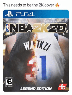 2K20 🔥: This needs to be the 2K cover  TED BY JOSEGF  N  NBAK20  OSEGIESIGN  BUDSSRRESIEN  CONTENT RATEDeY  ESRB  LEGEND EDITION 2K20 🔥