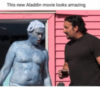 Jafar forcing Genie to take another shot: This new Aladdin movie looks amazing Jafar forcing Genie to take another shot