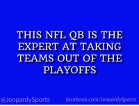 "Nfl, Sports, and Andy Dalton: THIS NFL QB IS THE  EXPERT AT TAKING  TEAMS OUT OF THE  PLAYOFFS  @JeopardySportsfacebook.com/JeopardySports ""Who is: Andy Dalton?"" #JeopardySports #CINvsBAL https://t.co/SWIF7qsdG9"