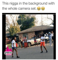 """Ghetto, Meme, and Street Fights: This nigga in the background with  the whole camera set.  ghetto  edhot <p><strong>Street fights and ghetto photography</strong></p><p><a href=""""http://www.ghettoredhot.com/ghetto-fights-meme/"""">http://www.ghettoredhot.com/ghetto-fights-meme/</a></p>"""