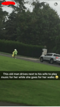 "<p>My friend said this happens almost everyday. via /r/wholesomememes <a href=""http://ift.tt/2fyeG80"">http://ift.tt/2fyeG80</a></p>: This old man drives next to his wife to play  music for her while she goes for her walks <p>My friend said this happens almost everyday. via /r/wholesomememes <a href=""http://ift.tt/2fyeG80"">http://ift.tt/2fyeG80</a></p>"